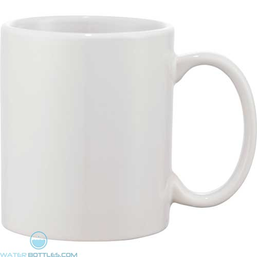 Bounty Ceramic Mugs | 11 oz - White