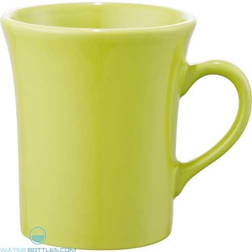 Zander Ceramic Mugs | 14 oz - Lime Green