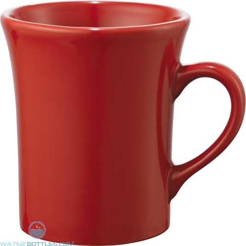 Zander Ceramic Mugs | 14 oz - Red
