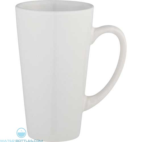 Enoteca Ceramic Mugs | 17 oz - White