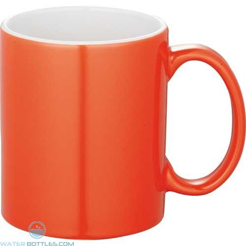 Bounty Ceramic Mugs - Spirit | 11 oz - Orange
