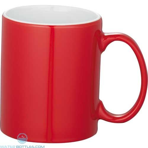 Bounty Ceramic Mugs - Spirit | 11 oz - Red