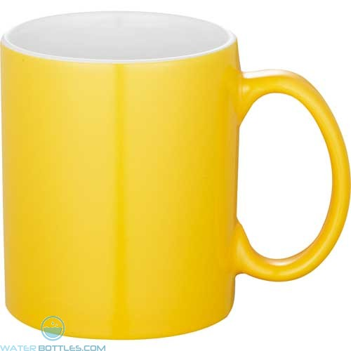 Bounty Ceramic Mugs - Spirit   11 oz - Yellow