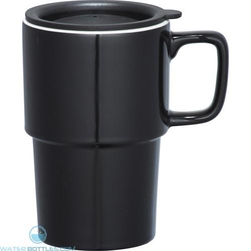 Contra Ceramic Mugs | 17 oz - Black