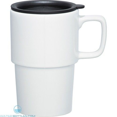 Contra Ceramic Mugs | 17 oz - White