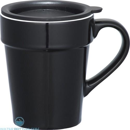 Habanera Ceramic Mugs | 10 oz - Black