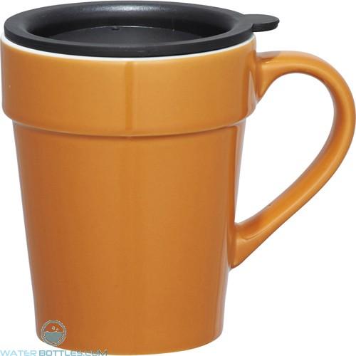 Habanera Ceramic Mugs | 10 oz - Orange