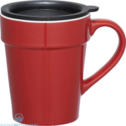 Habanera Ceramic Mugs   10 oz - Red