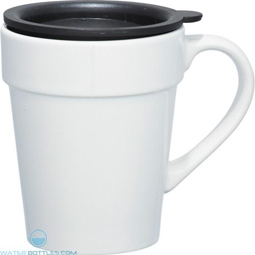 Habanera Ceramic Mugs | 10 oz - White