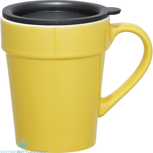 Habanera Ceramic Mugs | 10 oz - Yellow
