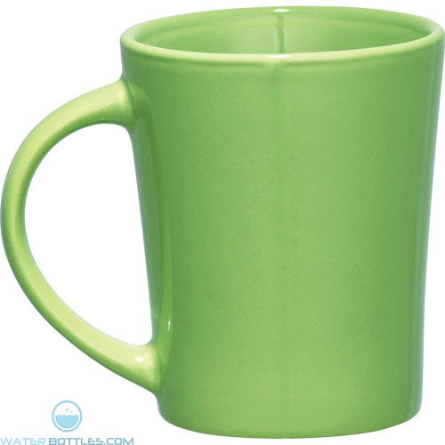 Palms Ceramic Mugs | 14 oz - Lime Green