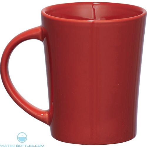 Palms Ceramic Mugs | 14 oz - Red