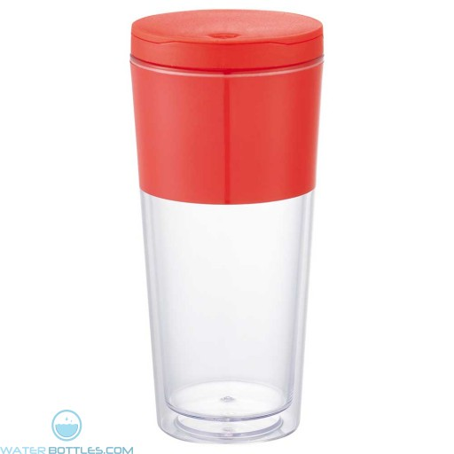 Color Band Tumblers | 16 oz - Red