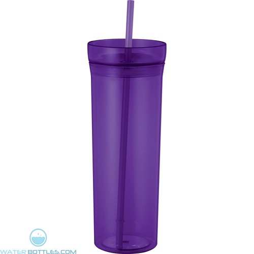 Sauron Tumblers With Straw | 22 oz - Purple