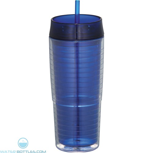 Xander Tumblers With Straw | 20 oz - Blue
