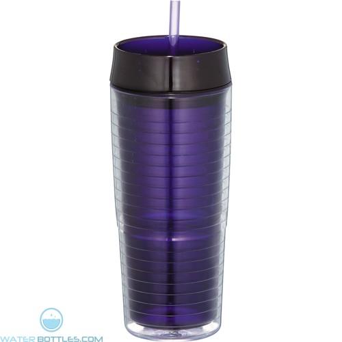 Xander Tumblers With Straw   20 oz - Purple