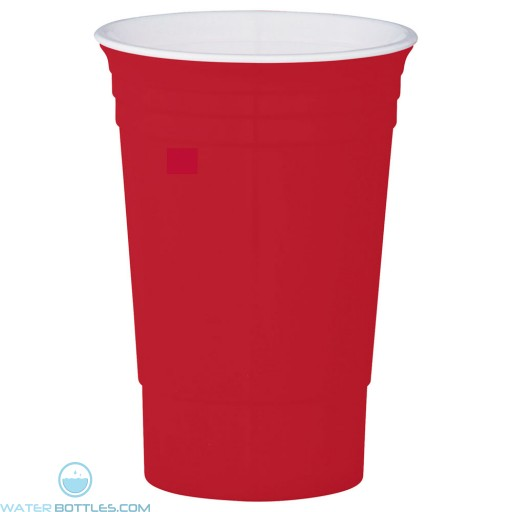 The Party Cup | 16 oz - Red