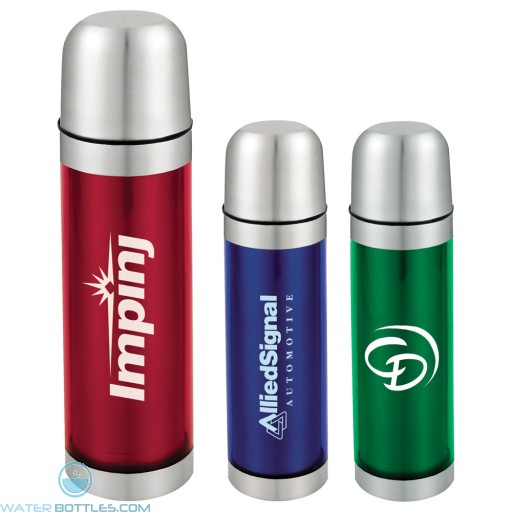 Personalized Water Bottles - Bullet Vacuum Bottles | 16.9 oz