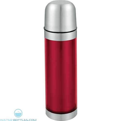 Bullet Vacuum Bottles | 16.9 oz - Red