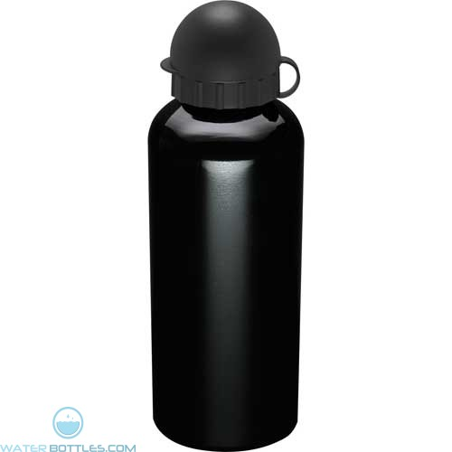 Mojave Aluminum Sports Bottles | 21 oz - Black