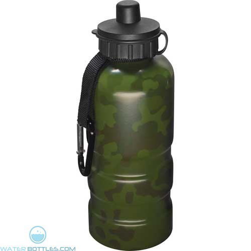 Sahara Aluminum Sports Bottles | 20 oz - Green