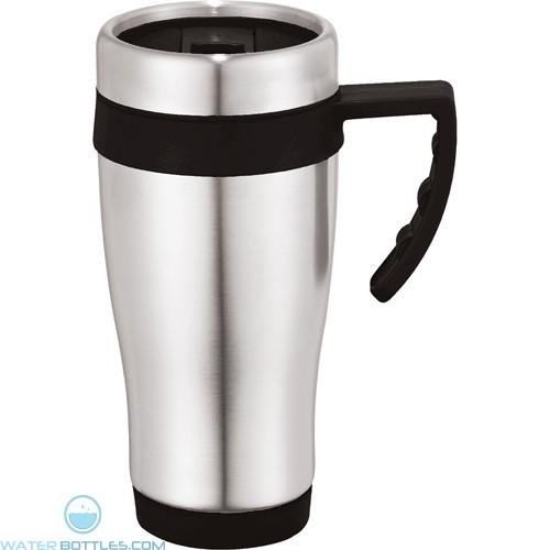 Seaside Travel Mugs | 15 oz - Black
