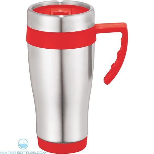 Seaside Travel Mugs | 15 oz - Red