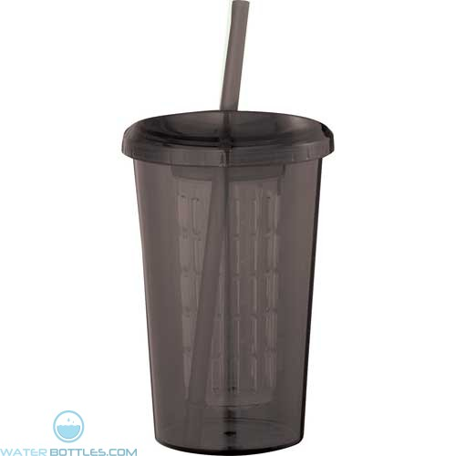 Tutti Frutti Tumblers With Straw | 20 oz - Smoke