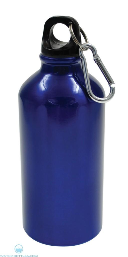 Geo Aluminum Bottles   17 oz - Blue