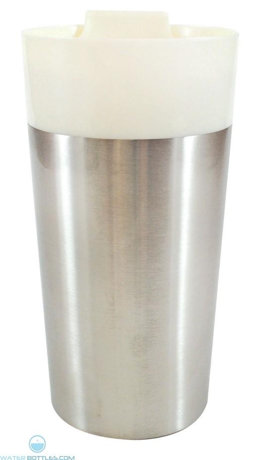 Classy Traveler Mugs | 16 oz - White