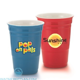 Promotional Cups - Let's Party Cup Ceramic | 12 oz