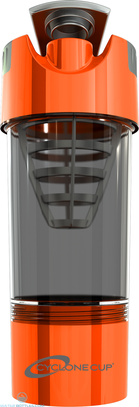 Cyclone Cup Tritan Shaker Bottles | 20 oz - Orange