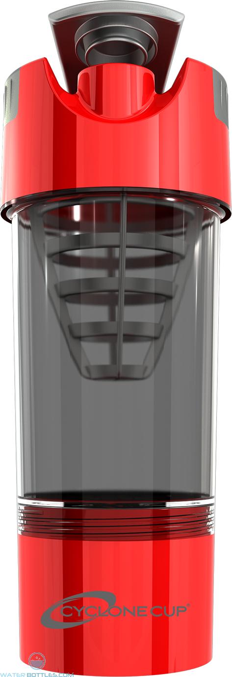 Cyclone Cup Tritan Shaker Bottles | 20 oz - Red