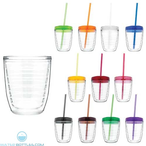 Promotional Cups - T12 Double Wall Tritan Cup   12 oz