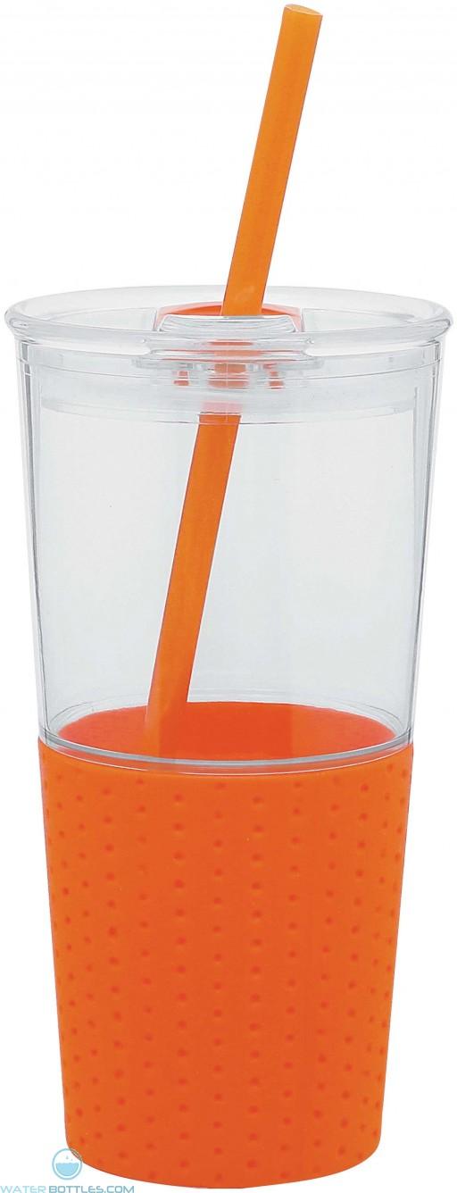 Go Acrylic Tumblers   16 oz - Orange