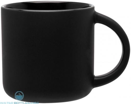 Minolo Mugs - Matte Black   14 oz - Black