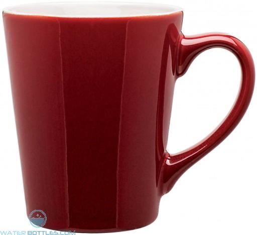 Carlo Ceramic Mugs | 12 oz - Red
