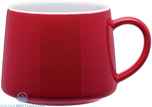 Aroma Ceramic Mugs   10 oz - Red
