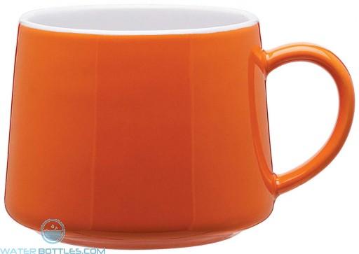 Aroma Ceramic Mugs | 10 oz - Orange
