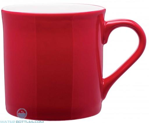 Zeal Ceramic Mugs | 16 oz - Red