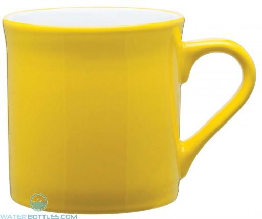 Zeal Ceramic Mugs | 16 oz - Yellow