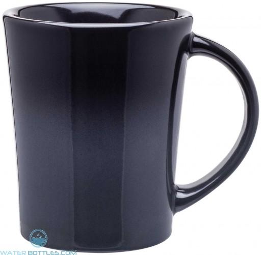Emma Ombre Ceramic Mugs | 14 oz - Black