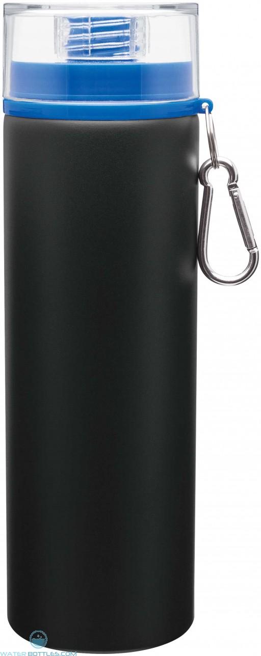 H2Go Trek Aluminum Water Bottles - Matte Black | 28 oz - Blue