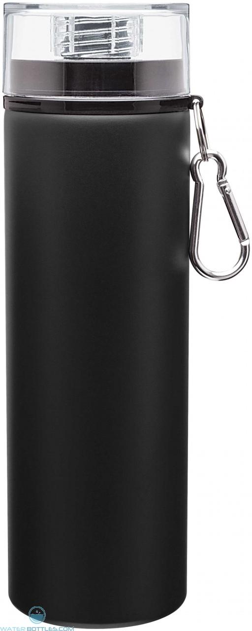 H2Go Trek Aluminum Water Bottles - Matte Black | 28 oz - Black