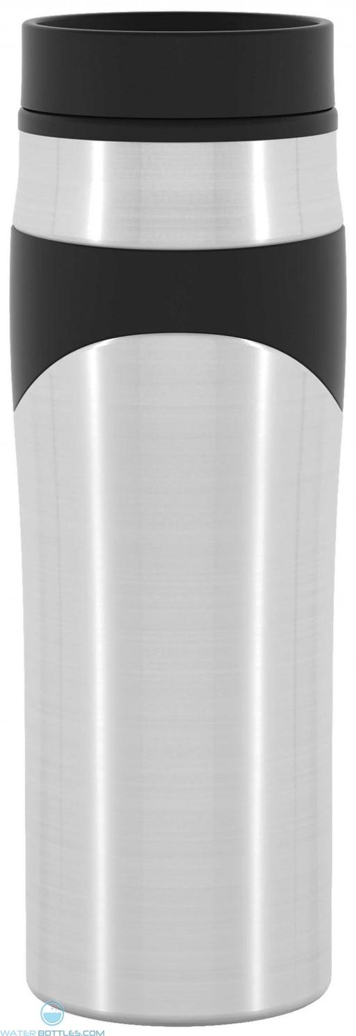 Stainless Steel Spotlight   16 oz - Black