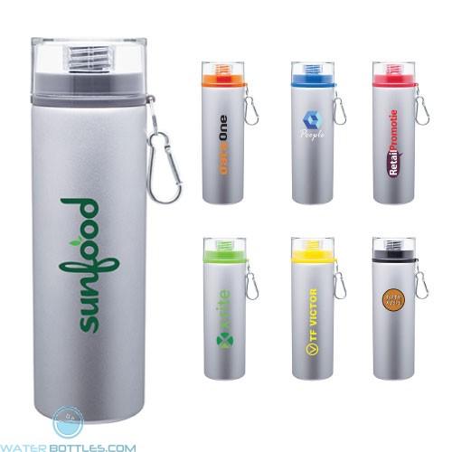 Custom Water Bottles - H2Go Trek Aluminum Water Bottles - Silver | 28 oz