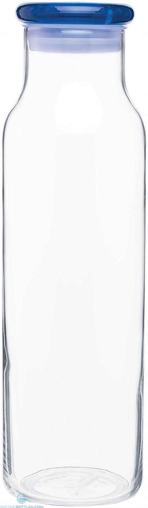 H2Go Vibe Glass Bottles | 22 oz - Blue