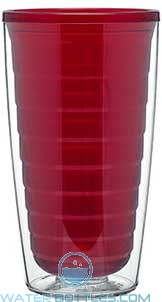 T16 Double Wall Tritan Cup | 16 oz - Red