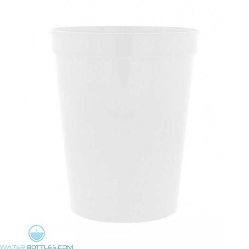 16 oz. Stadium Cups-White