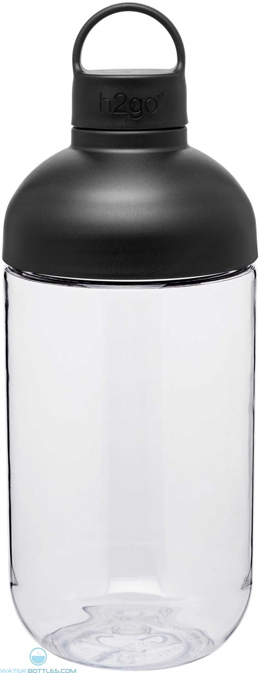 H2Go Capsule Bottles | 34 oz - Black